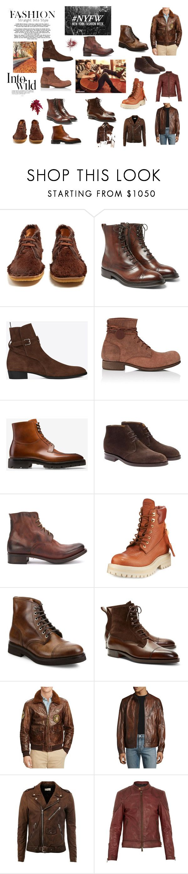 """Unbenannt #83"" by sotirios-theocharis ❤ liked on Polyvore featuring Prada, Berluti, Yves Saint Laurent, Carpe Diem, Bally, Edward Green, Cherevichkiotvichki, BUSCEMI, Brunello Cucinelli and Brooks Brothers"