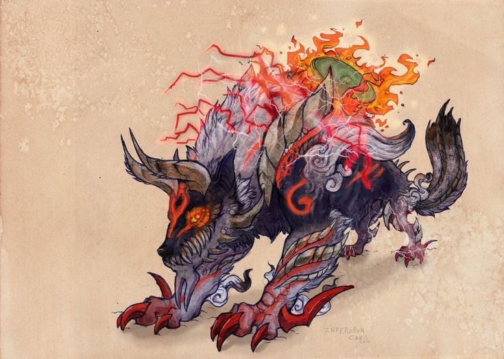 Monster Hunter: Stygian Zinogre meets Okami: Amaterasu