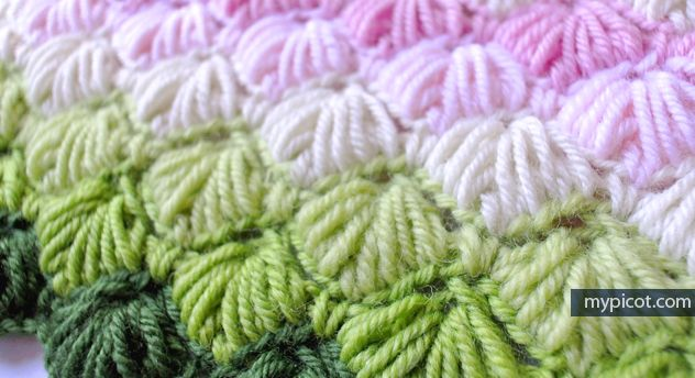 MyPicot | Free crochet patterns Crochet Star stitch: Diagram + step by step instructions