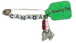 Girl Scout SWAP Canada Ice Skate Kit for Thinking Day! For complete kit supplies go to MakingFriends.com