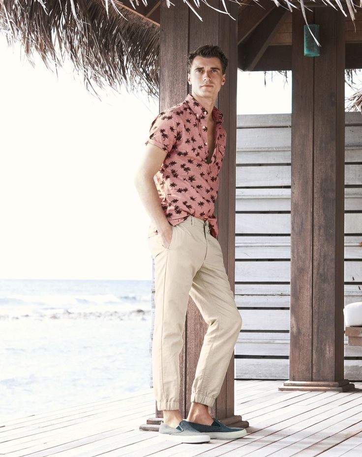 Clément Chabernaud Models Smart Summer Styles for J.Crew