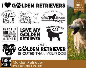 Image Result For Golden Retriever Silhouette Cut Files Pinterest