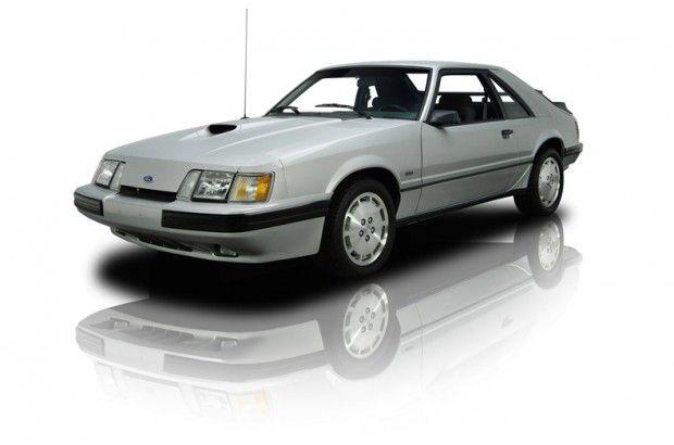 1986 Ford Mustang hatchback SVO 2.3 liter turbocharged EFI 4 cylinder