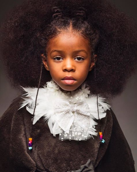 Beautiful African American Girls Natural Hair My Love For
