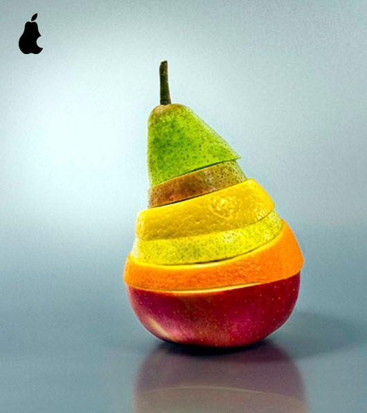 Une poire en fruits poire tranche fruits bonus: Lemon Limes, Fruitart, Fruit Salad, Colors Candy, Kitchens Art, Funny Pictures, Fruit Sculpture, Fruit Art, Food Art