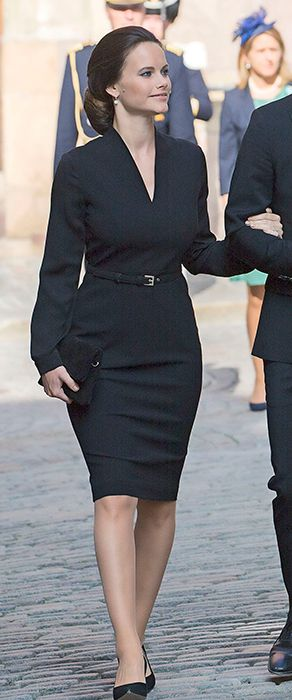 HRH Princess Sofia of Sweden at the September 2016 opening of Sweden's parliamentary session in Stockholm.