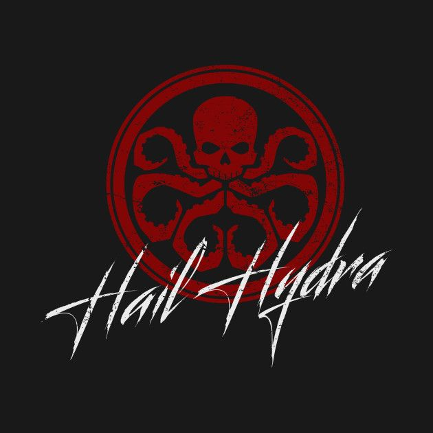 Check Out This Awesome Hail Hydra Design On Teepublic Hail Hydra Palmen