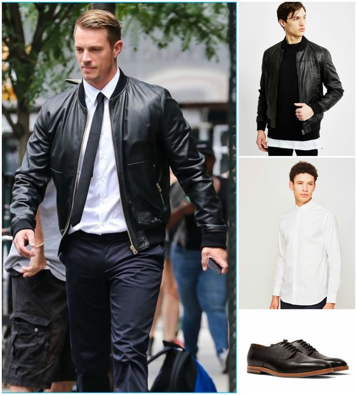 1000 Ideas About Mens Leather Bomber Jacket On Pinterest