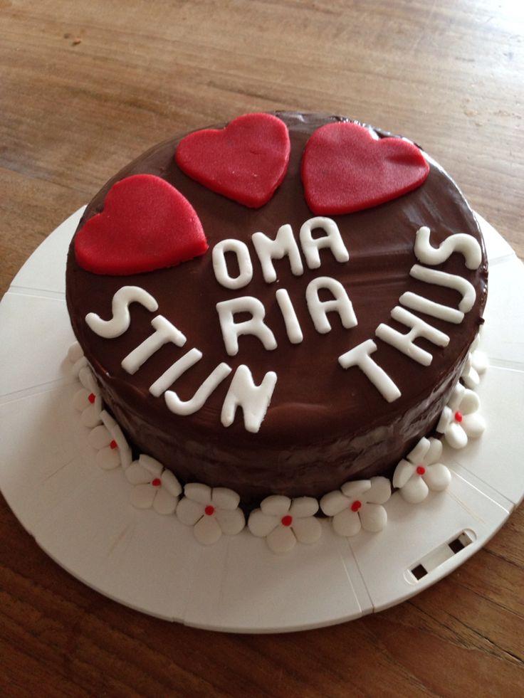 Oma Ria taart