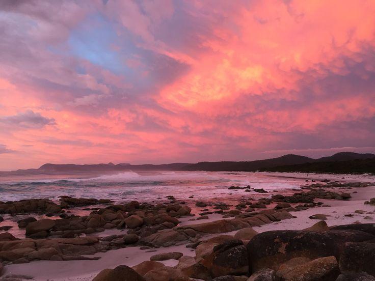 Sunrise at Freycinet Peninsula, Tasmania