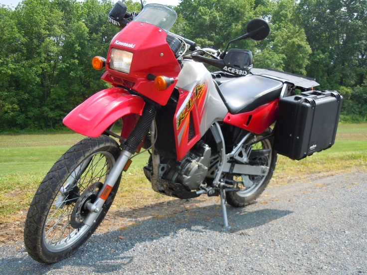 2006 Kawasaki KLR 650. This is the bike I want when the zombies attack. SOLD