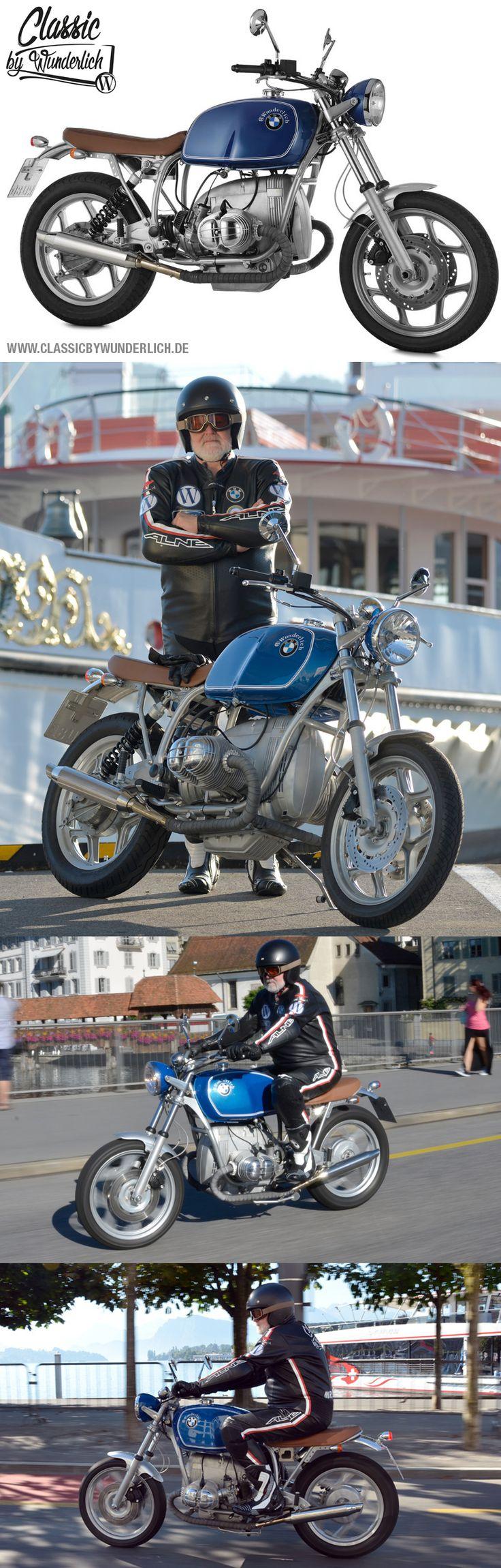 Wunderlich La Belle Bleu   Auf Basis einer BMW R 80 RT (Monolever) hat Wunderlich ein bildschönes, klassisches Motorrad mit herausragendem Handling auf die Räder gestellt.