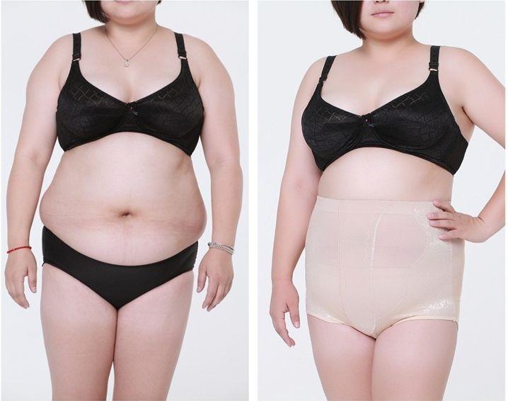 High Waist Plus Size Women Panties Body Shaper Beauty Tummy Belt Girdle Pants Breathable Sexy Underwear Bodysuit Women