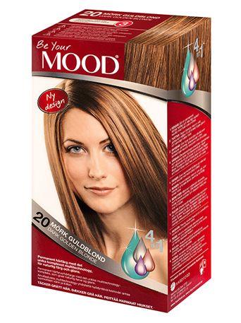 » N 20 MÖRK GULDBLOND Permanent hårfärg med det unika komplexet multitechnology – ett 4 in 1-system som färgar, tvättar, skyddar och vårdar ditt hår, för naturlig färg och glans. Täcker grått hår upp till 100%.  Mörkt hår blir gyllenaktigt. Ljust hår och blonderat hår blir mörkare och gyllenaktigt. Grått hår blir naturligt mörkt guldblont.