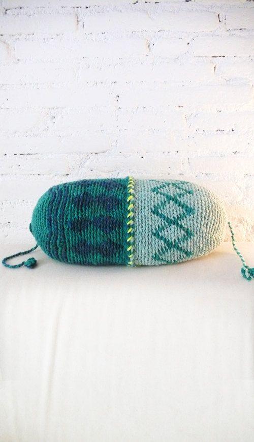 Cuscino Crochet Marrakech diamante verde di lacasadecoto su Etsy