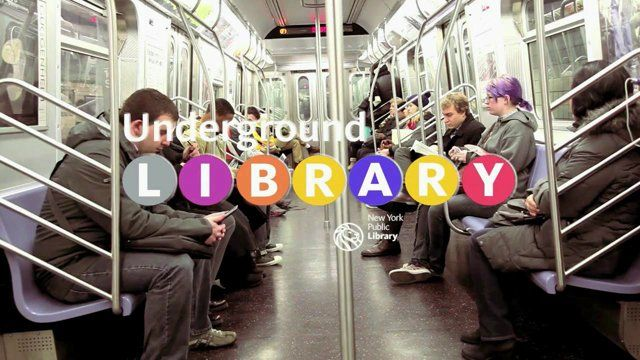 An interesting concept for using mobile technology to allow subway commuters to read an excerpt of a book whilst on the train.  Once they leave the subway, they will be informed via their phone of the nearest public library from which they can borrow the complete book.