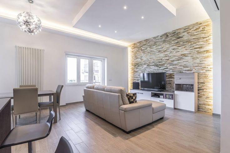 Oltre 25 fantastiche idee su soggiorno open space su for Casa stile minimalista