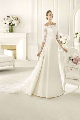 Robe de mariée collection 2014 Manuel Mota  IMAN