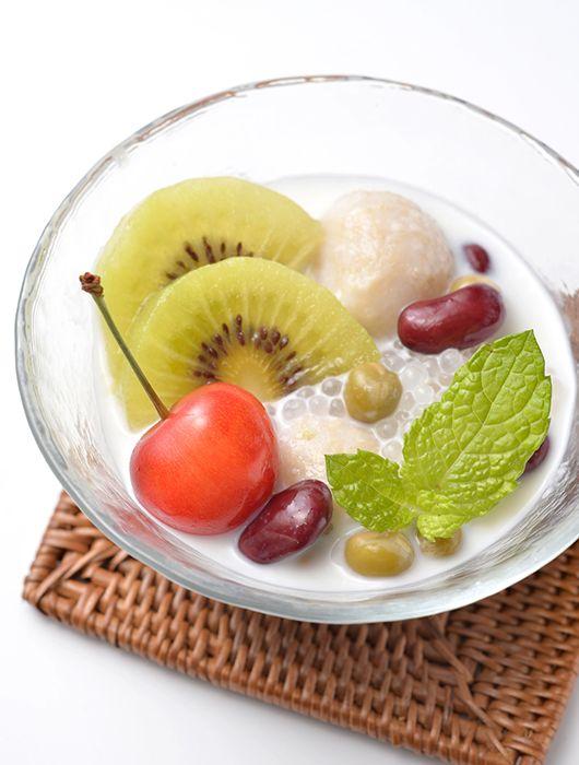 レシピ(デザート) | 無添加のお団子 まるごと玄米 まるごと玄米とココナッツミルクのチェー