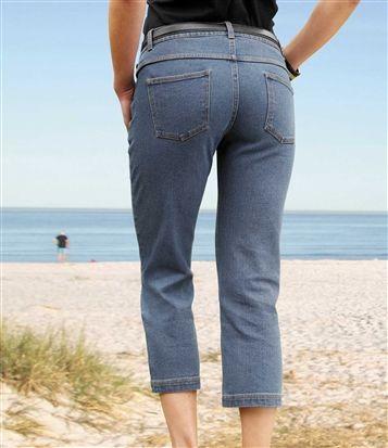 Pantacourt Jeans #discount #livraison #commande #été #summer #summertime #méditerranée #winter #atlasforwomen #atlasformen
