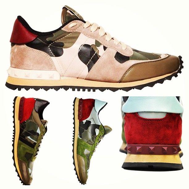 Valentino camo #stayfresh #valentino #igsneakercommunity by Sneaker LAB