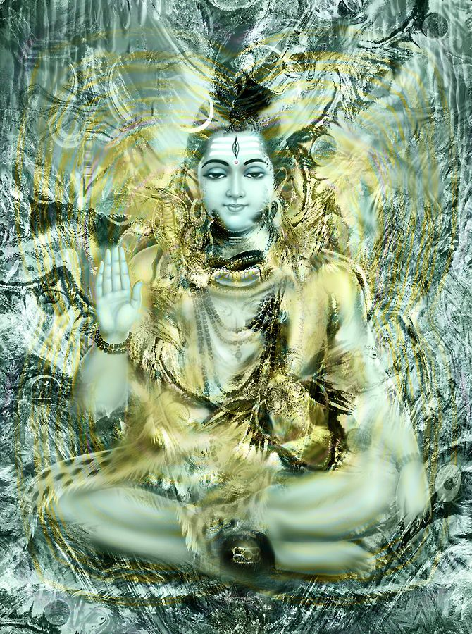 Lord Shiva II by ~Valleysequence