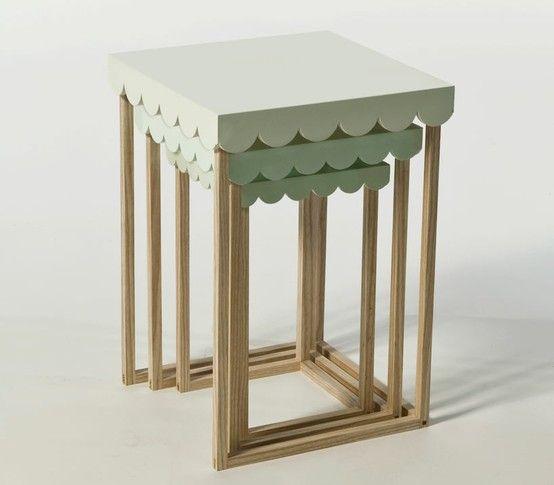 Scallop table