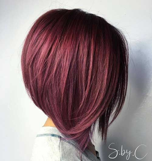 Stylish A-Line Bob Haircut Ideas