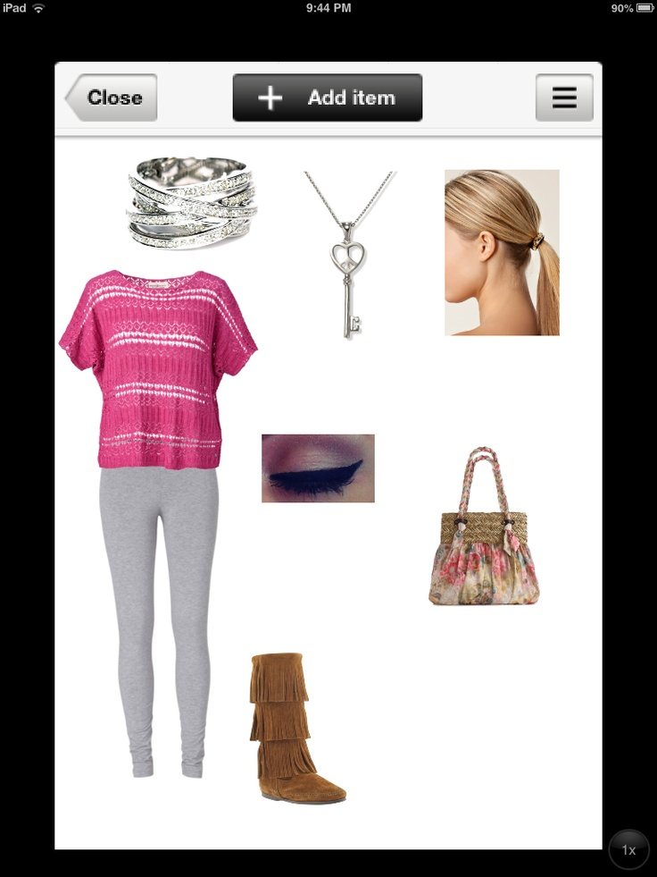 Shopping with Louis