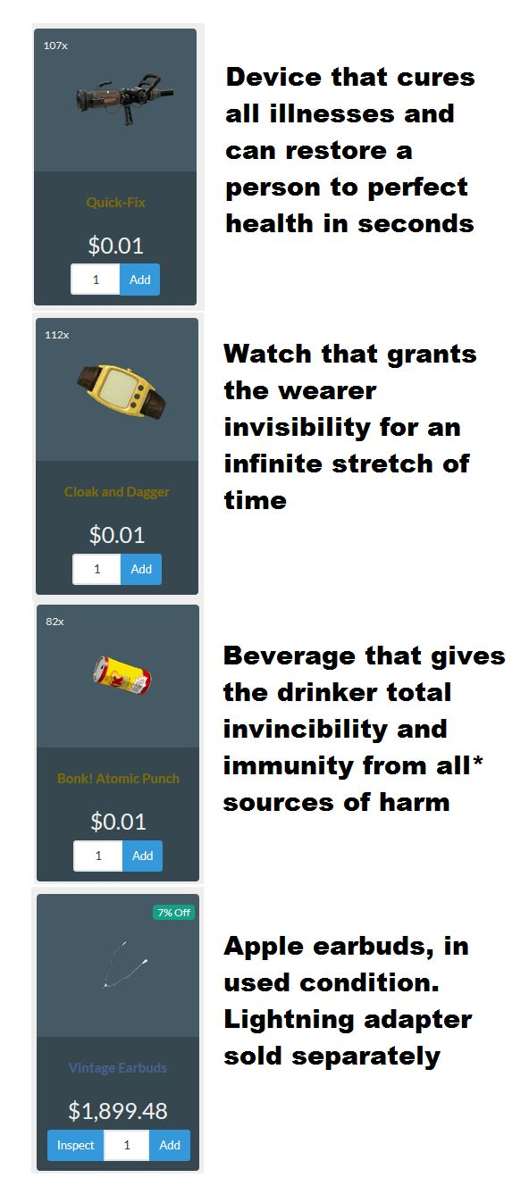 If we're comparing the prices of goods in the TF2 economy... #games #teamfortress2 #steam #tf2 #SteamNewRelease #gaming #Valve