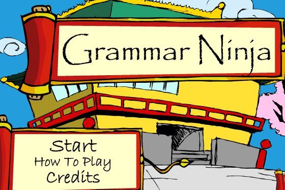 CC Essentials: Grammar Ninja is VERY addicting with its video-game style. What a fantastic way to practice the parts of speech! Scroll down for the game....lots of other great ideas on this post!