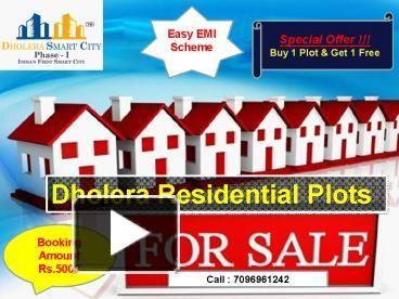 Dholera Residential Plots for Sale at Best Rates.  #Dholera #DholeraSIR #DholeraSmartCity #Gujarat