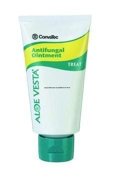 Aloe Vesta Antifungal Ointment Qty 12 by ConvaTec. $130.60. Specially formulated for the treatment of superficial fungal infections. Ideal for athlete's foot, ringworm, jock itch, and candida albicans. Contains 2% Miconazole Nitrate in a skin protectant base.5 oz. Tube