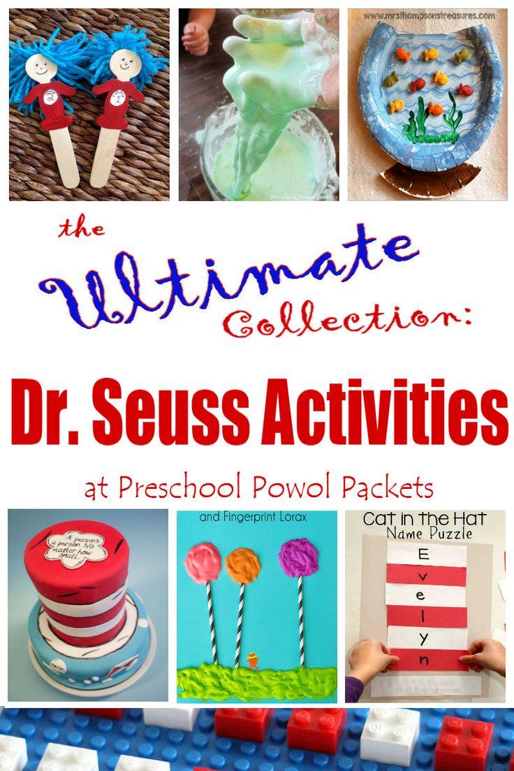 preschool dr seuss lesson plans 1000 images about dr seuss activities on cats 809