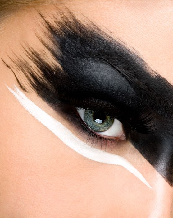 Best 25+ Black And White Makeup Ideas On Pinterest