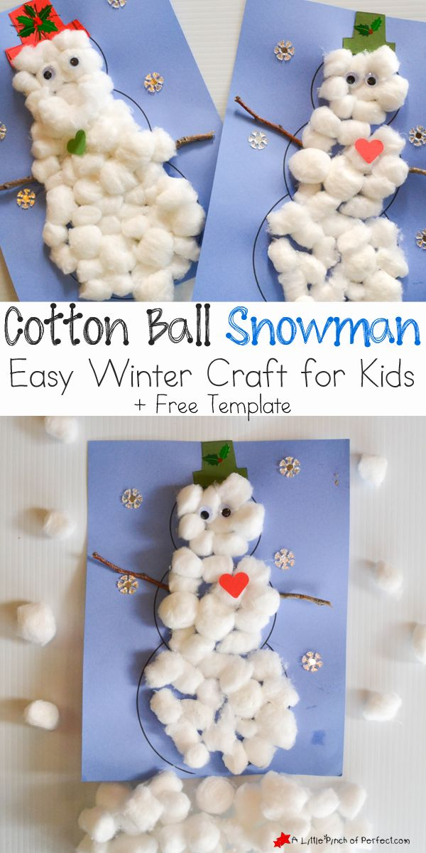 Best 25 Cotton Ball Crafts Ideas On Pinterest