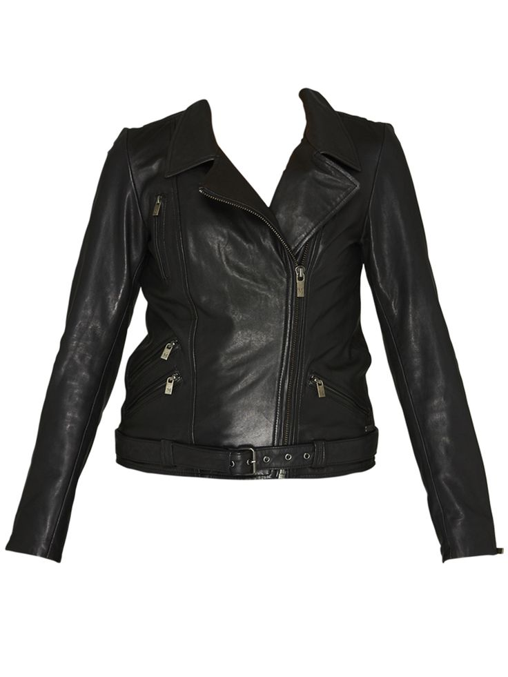 Maison Scotch - Leather Biker Jacket
