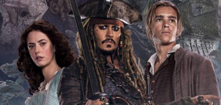 Foi divulgado hoje dois novos cartazes onde mostra o capitão Jack Sparrow e sua turma que o acompanhará nessa nova aventura contra Salazar.