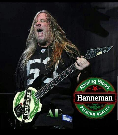 the late Jeff Hanneman