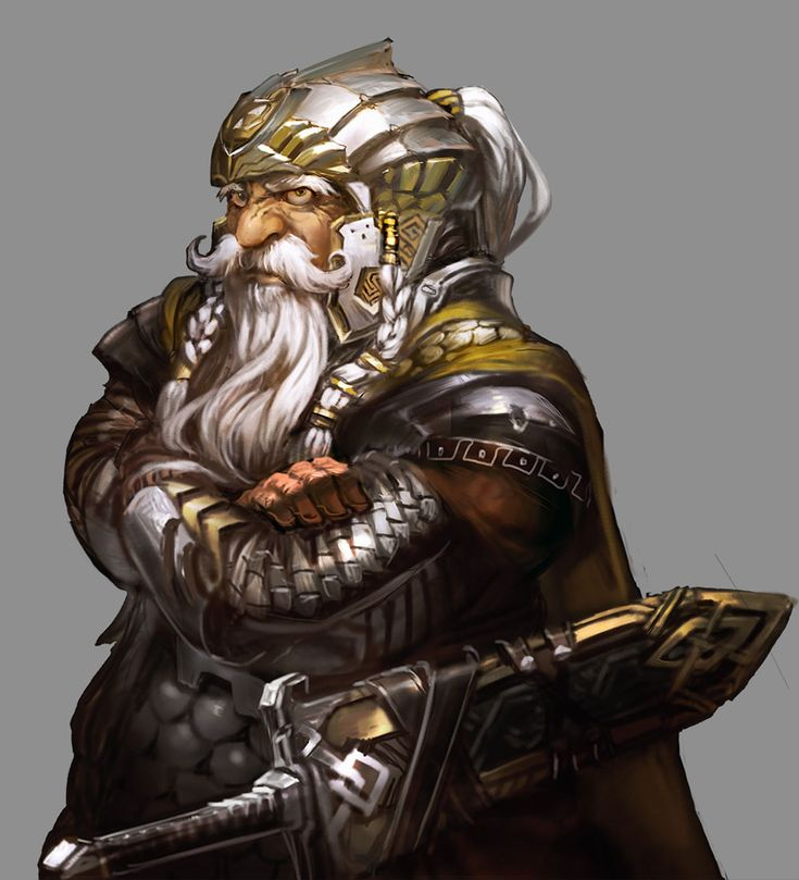 ✧ #characterconcepts ✧ Dwarf Race - Stranger of Sword City [RPG]