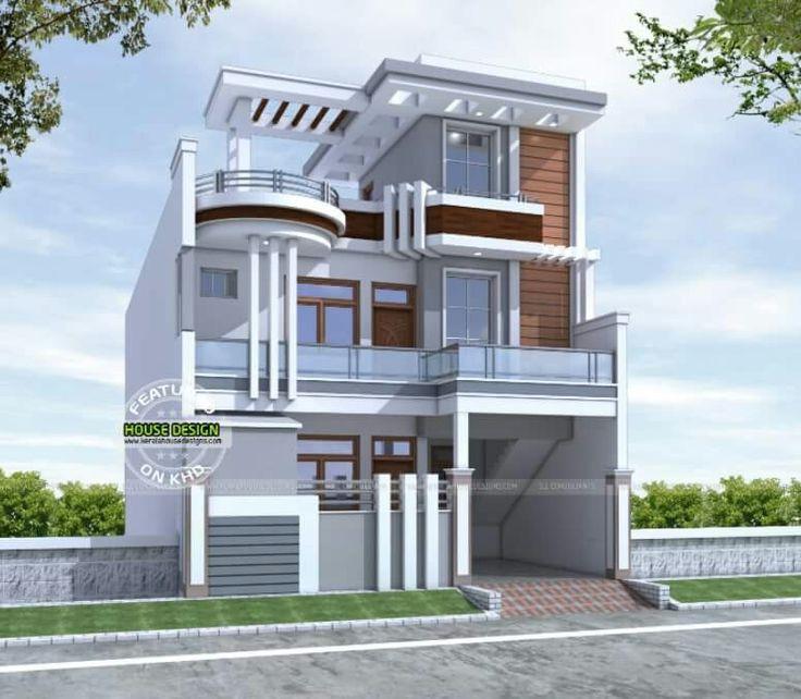 Pin De Azhar Masood En House Elevation Indian