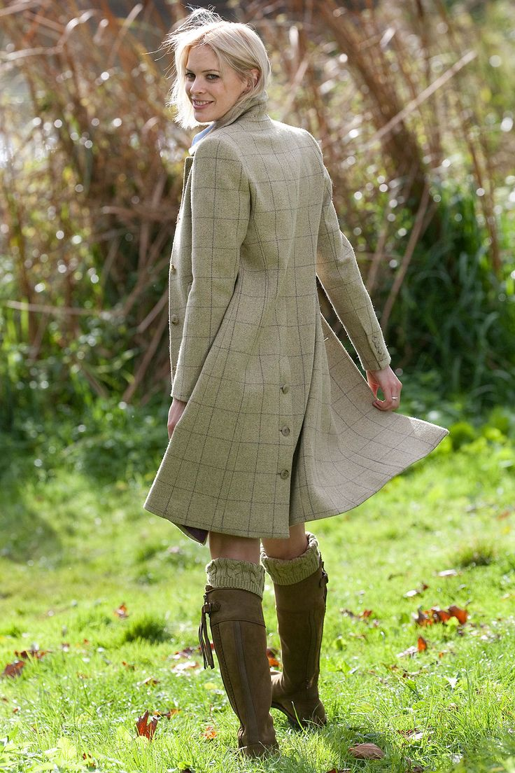 Gorgeous country coat #tweed #country #English