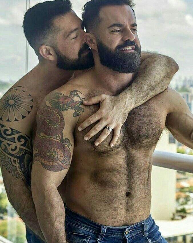 Hard hairy gay