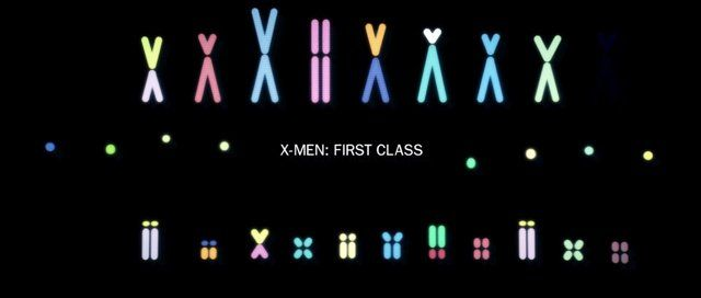 """Design and direction for the """"X-Men: First Class"""" animated title sequence. Referencing early 1960's title sequences as inspiration, simple shapes are used to graphically represent scientific data including DNA sequencing, mitosis, meiosis, and gene technology.  As animation technology has advanced significantly in the past 50 years, the graphic language had to be controlled and close attention and restraint had to be applied to the typography and animation style ..."""