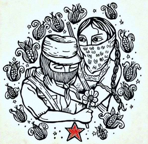 Amor revolucionario, Amor zapatista #EZLN #Chiapas