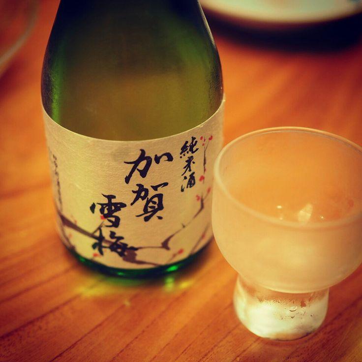 #日本#金沢#和食#地酒#加賀雪梅#寿司屋