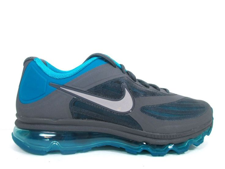 Nike Air Max 360 Ultra 2011 Men's Size 8.5 Running Shoes Grey Blue 454346 030 #Nike #RunningCrossTraining