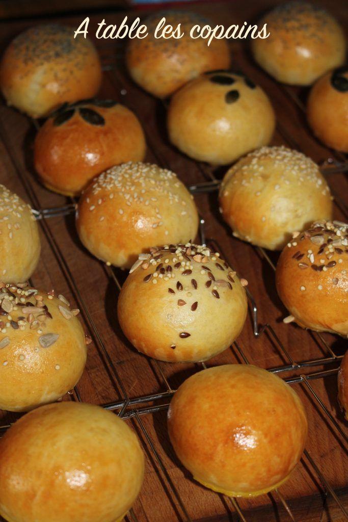 Ces petits pains briochés sont idéals pour un brunch, un apéro dinatoire, un plateau télé, ou même un pique-nique !