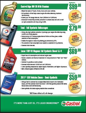 17 Best Images About Castrol Premium Lube Express On