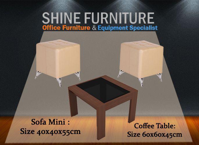 Sofa mini AC-710 + Coffee table Modera CT60